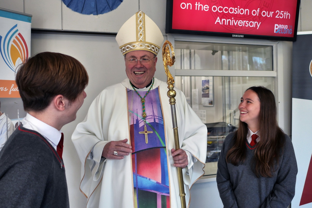 Archbishop Malcolm visits Our Lady's
